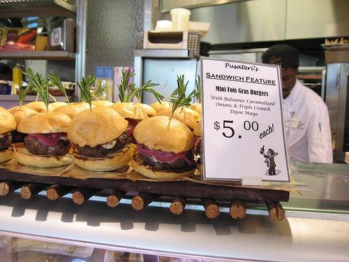 Foie Gras Burgers